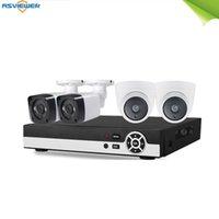 أنظمة 4ch نظام الكاميرا CCTV 4 قطع 5mp الأمن مراقبة dvr كيت للماء في الهواء الطلق داخلي المنزل الفيديو