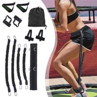 Yüksek Kaliteli Tam Vücut Direnci Eğitmen Spor Fitness Bel Bacak Zıplayan Eğitim Direnç Gruplar Spor Kiti ED889 Esneme