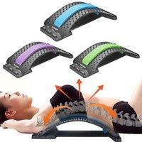 massaggio attrezzature magia strumento tratto di sostegno della vita di fitness Back Massager barella