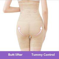 quality5XL Plus size waist trainer Body Shaper women shaper high waisted slimming underwear shapewear butt lifter corset slimming pants