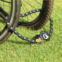Hamburg-Lock Foldable Bike Locks With 3 Keys Alloy Anti-Theft Strong Security Bicycle Lock Mount Bracket Chain