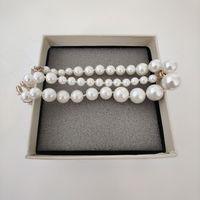 45см длинный новый Produt жемчужное ожерелье высочайшее качество ожерелье дикая мода женщины ожерелье изысканные украшения
