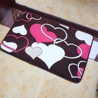 40x60cm style simple Chambre Thicker antiglisse Tapis de cuisine Tapis de bain tapis de luxe Accueil de la machine Salon Lavable