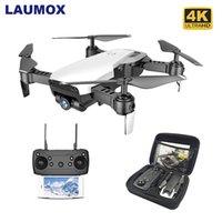 Laumox M69G FPV RC 무인 항공기 4K 카메라 광학 흐름 셀프 Dron Foldable WiFi Quadcopter 헬리콥터 대 Visuo XS816 SG106 SG700 X12