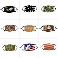 Amerika Bayraklar Kartal Kağıt Para Filtre Parçası Papatya Çiçek Mascherine Yıkanabilir Custom 4 2xta C2 ile Yüz Maskesi Yıldız mascarilla yazdır