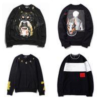 mens homens do hoodie hoodie impressão camisola Hip Hop Tamanho Moda Unissex pulôver Homens Mulheres animal Impresso solto Fit camisola Asian