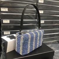 Disco WANG Crossbody Hobo Chain Women Designer Tote Famous Diamond Bags Quality High Crystal Soho 2021 Shoulder Bag Handbags P Annlx