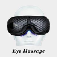 Elektrisk vibration Bluetooth Eye Massager Eye Care Device Diamond Electric Eye Care Massager Lindra stress med Bluetooth-musik