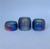 Fatboy Convex Bolla Rainbow per EHPRO Billow V3 Plus Raptor Ijoy Katana Wand 4ml 5.4ml RTA Kit Kit Social Sostituzione del tubo di ricambio