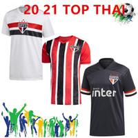 2020/21 ساو باولو المنزل بعيدا الثالث الأسود لكرة القدم الفانيلة رقم 7 2021 PATO # 10 داني ألفيس بدلة رجل # 9 PABLO هيرنانيس لكرة القدم قميص