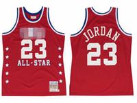 Männer 23 Michael Mitchell Ness Blue 1988 1989 1991 All-Star East Hardwoods Classics Retro Jersey