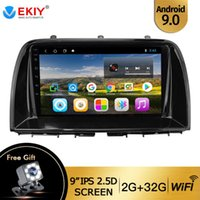 EKIY 9 ''CX5 CX5 CX 5 2012 2020 자동차 라디오 멀티미디어 비디오 플레이어 네비게이션 GPS 안드로이드 9.0 없음 2DIN DVD 플레이어 자동차 DVD의 IPS