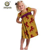 mini vestido crianças roupas africanas dashiki Ancara vestidos estampados linda para a menina cera traje batik afripride s1940009