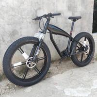 Vélos Hydraulic freins Vélo de montagne 26 * 4.0 Pneus Cadre de plage 27 Vitesse DIY Couleurs 26 pouces