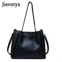 Кожа JIEROTYX высокого качества Chic Женщина сумки 2020 Твердых Женщины сумка MESSENGE плечо сумки Модных Totes Сумка