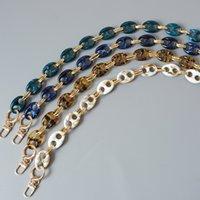 A catena parti New Woman Fashion Bag accessori leopardo Candy Beige Blu resina acrilica metallo donne della cinghia a tracolla carino catena della frizione
