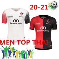 20 21 Liga MX 2020 2021 Atlas FC Soccer Jerseys Home L.reyes I.Jeraldino Acosta I. Renato J. Angulo Camisas de futebol Tailândia Maillots