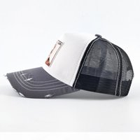 A Fashion Embroidery Animal Baseball Caps Men Breathable Mesh Snapback Caps Unisex Sun Hat For Women Bone Casquette Hip Hop Capdr3571