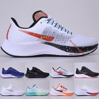 Top Zoom Pegasus 37 Running Shoes 2020 New Pure White Platium Preto Royal Blue Mens Womens Outdoor Sneakers Tamanho 36-45