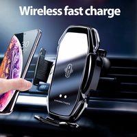 A5S Araç kablosuz şarj Tutucu Otomatik Sensör Araç Telefonu Tutucu Kablosuz Şarj Telefon Araç Tutucu Cep Dağı Standı