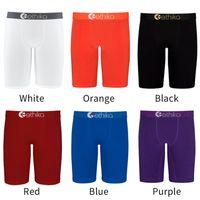 Moda Erkek Şort Yaz Mayo Katı Renk Boksörler Hızlı Kuru Nefes Kısa Pantolon Erkekler Spor Şort Yüzme Boksörler İç 6 Renkler