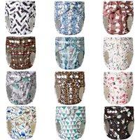 Pannolini per stoffa lavabile rivelabile rivelabile per neonati per bambini involucro diapers riutilizzabile3