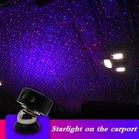 جديد أضواء المحيطة سيارة USB جو ضوء أضواء التحكم الصوتي مسند ذراع نجم موسيقى خفيفة في السيارة الداخلية إكسسوارات الإضاءة