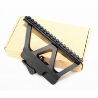 Tactical Picatinny Weaver Heavy Duty AK Side Mount Rail быстрые QD Trilho 20 мм отсекает прицел прицел рельс пикатинни