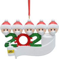 2020 Christmas Ornament Customized Gift Survivor Family of 2...