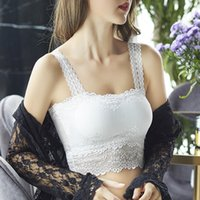 Sütyen Kadınlar Seksi Dantel Sutyen Güzellik Back Wrap Göğüs Alt Anti-parlama Bayanlar Moda Tüp Üst İç Çamaşırı