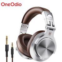 Headsets ONEODIO A7 Fusion Bluetooth Kopfhörer Studioaufnahme Kabelgebundene / WirelessHEADHONES MIT SHARE-PORT Professional Monitor