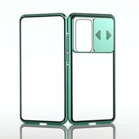 Gizlilik Temperli Telefon Kılıfı iPhone 12 11Pro Max Metal 360 Manyetik Fit Tüm Lens Koruma 7 Artı XR XS Max Kılıf Kapak