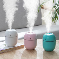 Humidificateur d'air ultrasonique 200ML Mini Aroma Huile essentielle Diffuseur pour la maison LED USB bureau Car Night Light Lamp brumisateur Mist Maker en gros