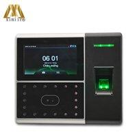 Système de reconnaissance du visage Temps multi-biométrie Temps de présence et de contrôle d'accès Face Empreinte digitale avec carte, batterie SDK Free IFace302