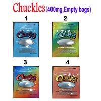4 FLAVORS 400MG EMPTY CHUCKLES EDIBLES GUMMY BEARS WORMS MIN...