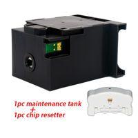 T6712 T671200 Mantenimiento del depósito de tinta Para WorkForce Pro WF-6090-WF 6590 WF-8090 WP-8010 WP-8510 WF-8590 Tinta Caja de mantenimiento