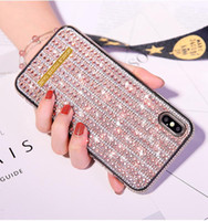 Sparkle glittery glass cell phone case For iphone 11 pro x x...