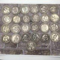 Sexy Hobo níquel copia la moneda conmemorativa de la antigüedad de la reproducción Una Dollor Señora del recuerdo del viaje de imitación del arte del metal del regalo Colección