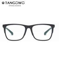 Moda Güneş Gözlüğü Çerçeveleri Tangowo TR 90 Ultralight Mavi Işık Gözlük Iş erkek Reçete Çerçeve Erkekler Için Tam Rim Gözlük Vintage