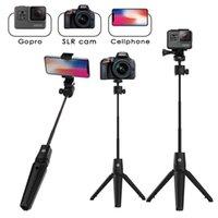 Multifonction sans fil Bluetooth selfie bâton pliable de poche monopode obturateur à distance Mini trépied pour Extendable Smart Phone
