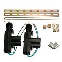 Sécurité de l'alarme 2 x 12V Verrouillage central de porte de voiture de voiture universelle avec actionneur de fil Système de verrouillage automatique de véhicule automatique