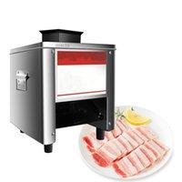 LEWIAO Gewerbe Fleisch Slicer Edelstahl Vollautomatische 850W Shred Slicer Dicing-Maschine Elektrische Gemüseschneider Grinder