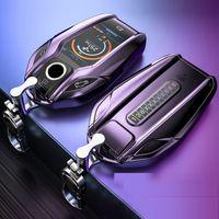 BMW Key Case ForBMW 5 7 Serie G11 G12 G30 G31 G32 I8 I12 I15 G01 X3 G02 X4 G05 X5 G07 X7 LED-Anzeige Autozubehör