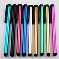 ستايلس القلم بالسعة الشاشة الحساسة للغاية اللمس القلم ل iPhone6 6plus iPhone5 4 Samsunggalaxys5 S4 note4 note3 العالمي ستايلس اللوحي