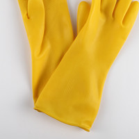 beef tendon rubber durable cleaning kitchen household thickened dishwashing five finger gloves