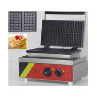 Ticari Yapışmaz 10 adet elektrikli yumurta Belçika waffle makinesi waffle çıkar fırıncı pasta fırın waffle makinesi
