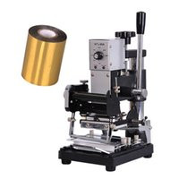 Manual Hot Stamping máquina para o couro máquina de vincar marcação cunho máquina para Gilding imprensa