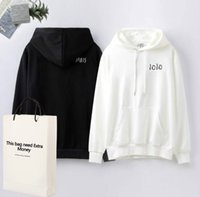 20FW Letters Bordado Hoodies Homens Camisolas para mulheres Sweater Primavera Outono Pullovers Streetwear Homme Vestuário M-2XL Top Quality -1