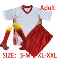20 21 Soccer Jerseys home away third WERNER Camiseta FORSBERG Maillot HALSTENBERG SABITZER 2020 2021 Football Shirts kids kit+socks