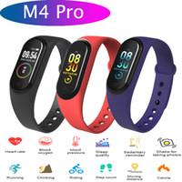 M4 Pro Smart-Armband Wasserdicht Sport Activity Tracker Herzfrequenz-Blutdruck-Monitor m4 pro Smart-Armband-Uhr-Support iOS Android